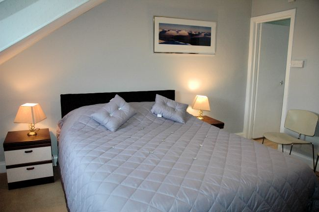 Six of the bedrooms are at the front of the hotel and have superb sea views, looking across Loch Carron towards Attadale.