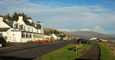 The Lochcarron Hotel is situated in Wester Ross on the west coast of the Scottish Highlands.